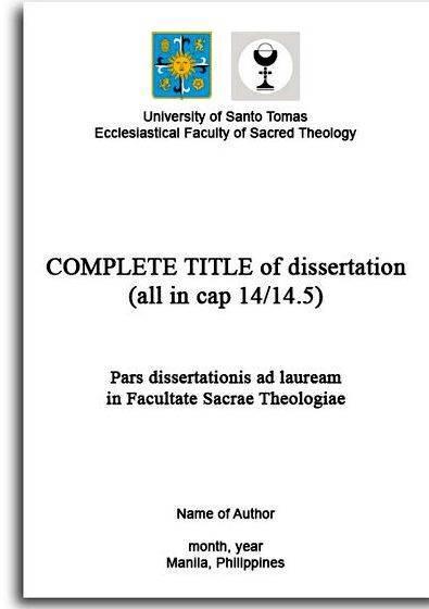 Best dissertation titles