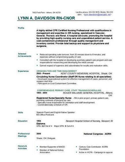 Top Nursing Resume Writing Services