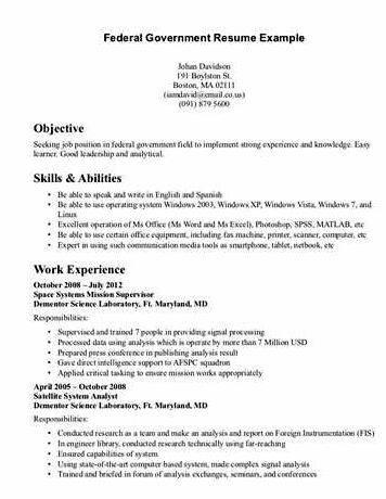 Elegant Federal Resume Writing Service Reviews