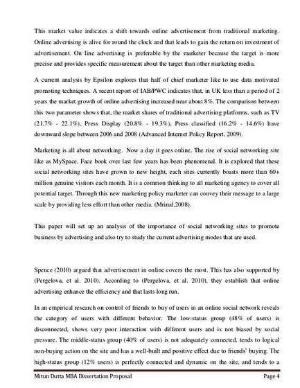 Sample of thesis proposal chapter 3