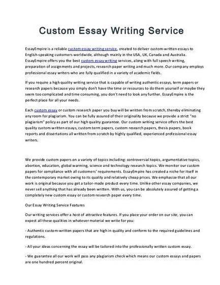 Masters Essays Written By Nursing Professionals