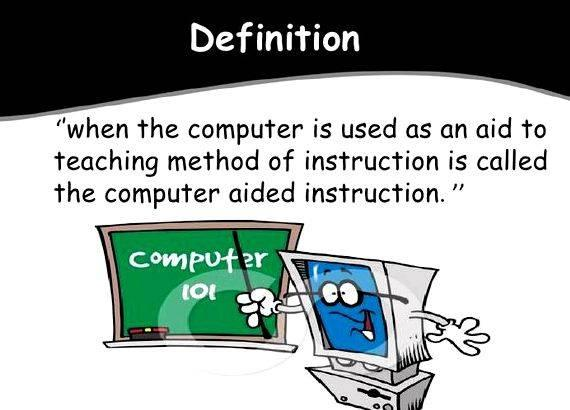 Computer aided instruction thesis