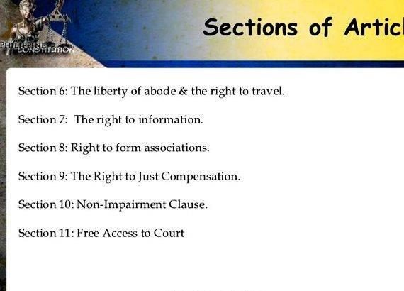 article one section 9