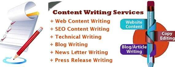 Blog content writing services freelance