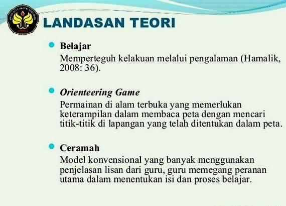 Contoh Thesis Proposal