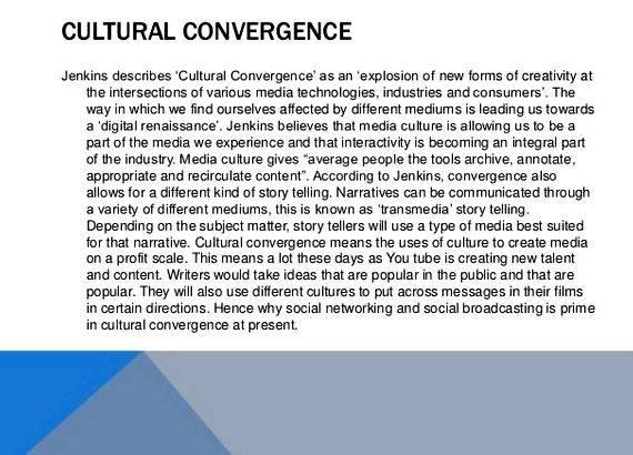 Convergence thesis definition in writing in Sociology         Just