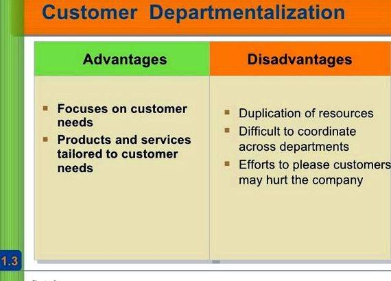 what departmentalization is used by starbucks