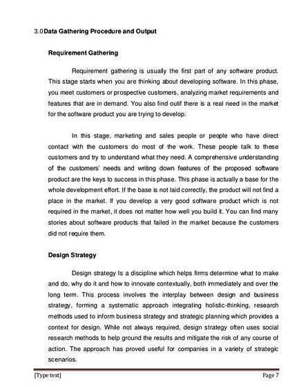 data gathering procedure example thesis