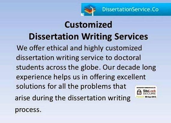 Dissertation editing help data analysis