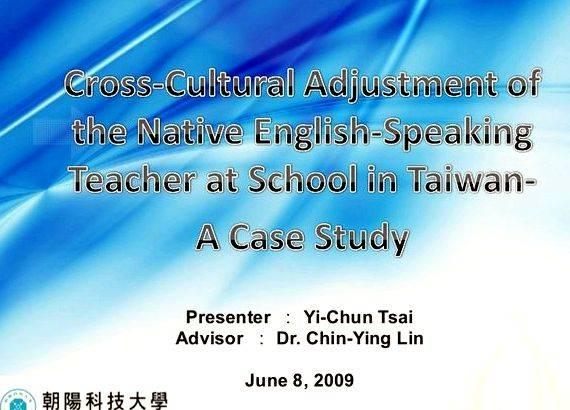 cross culture adjustments