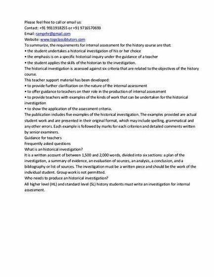 Dissertation proposal sample history ia