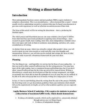 Proposal and dissertation help law