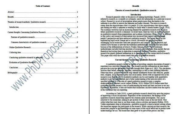 Sample dissertation proposal in education