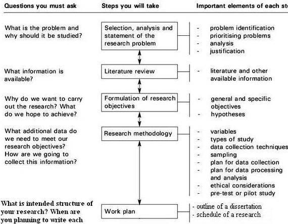Dissertation proposal and sample analysis