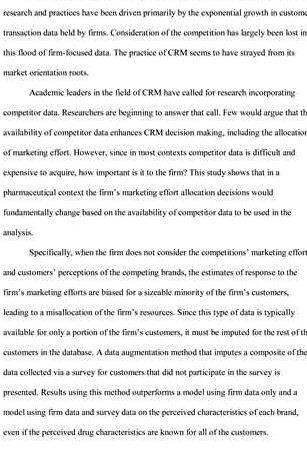 Marketing dissertation titles