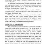 Dissertation report Consumer Behavior towards online shopping of Sma  Undergraduate Dissertation Structure Undergraduate Dissertation Structure