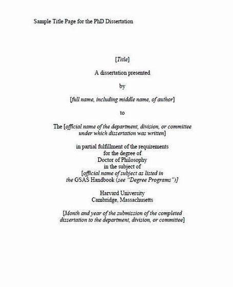 thesis name