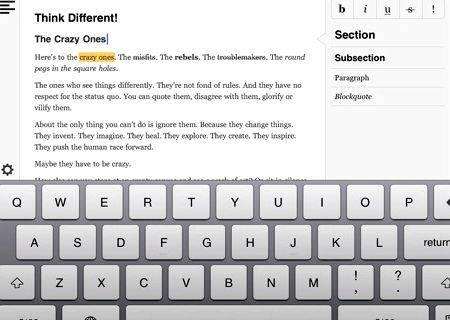 paper writing apps for ipad
