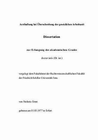 Dissertation zur erlangung des akademisches grades online not have access to