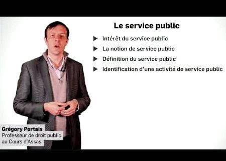 Le service public droit administratif dissertation