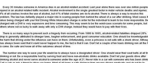 drunk drivers how stiff should the penalties be essay Kaitlyn's drunk driving essay to have tougher penalties stories from one drunk driver drunk driving should not be tolerated and everyone.