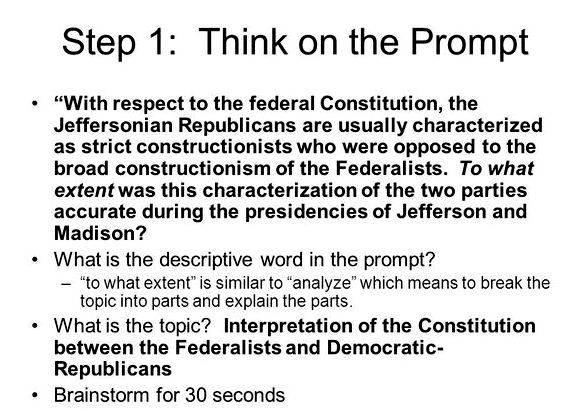 Federalist vs democratic republican thesis proposal greater democratic power commonly