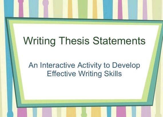 Graphic organizers for thesis