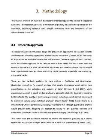 Develop a Research Proposal - Writing the Proposal