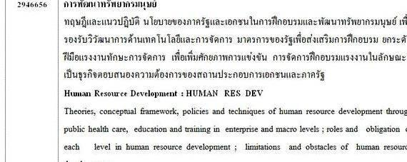 thesis on human resources development