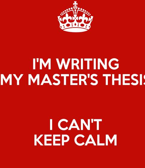 am writing my thesis Finishing your phd thesis: the key to a successful phd thesis write in your own voice 'everyone wants their thesis to be amazing' photograph: david levene.