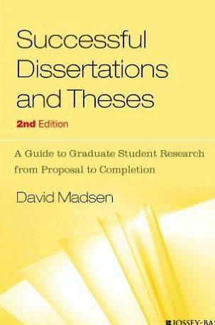 Writing thesis proposal vs dissertation