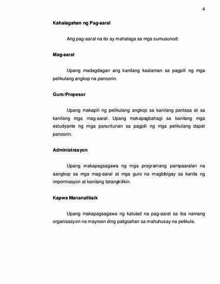 kahalagahan ng pag-aaral sa thesis Aaral saklaw at limitasyon ng pag aaral sa thesis tungkol sa epekto ng makabagong teknolohiya sa estudyante essays and term papersnbsp impluwensya ng makabagong.