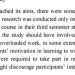dissertation limitations of research