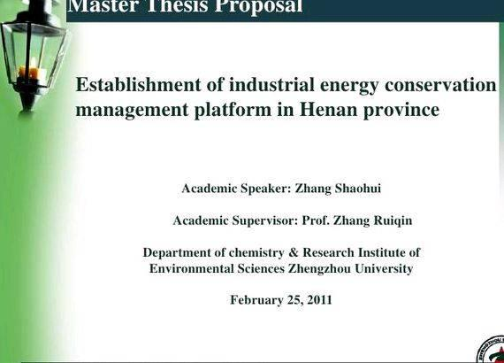 Master thesis defense presentation ppt overview