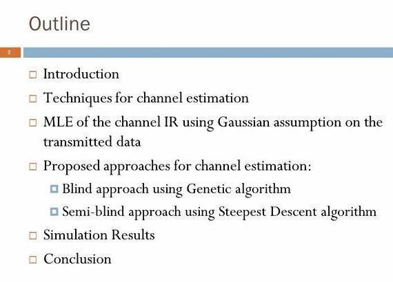thesis on ofdm channel estimation 1 optimal training signals for mimo ofdm channel estimation hlaing minn, member, ieee and naofal al-dhahir,senior member, ieee abstract—this paper presents general.