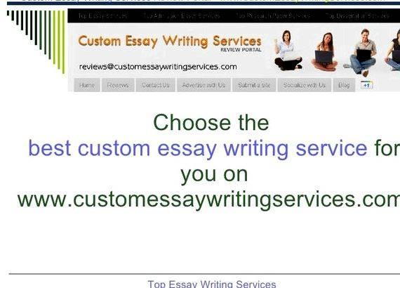 Reliable essay writing companies
