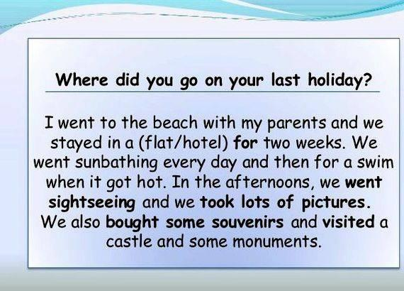 write a narrative essay on how you spent your last holiday Pearson, 2004) - whenever you incorporate narrative into your writing, remember that good narrators use concrete,  how to write a narrative essay or speech.