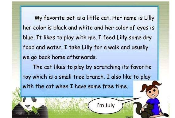 essay my pet cat Category: essay about my family title: essay about family: a special cat.