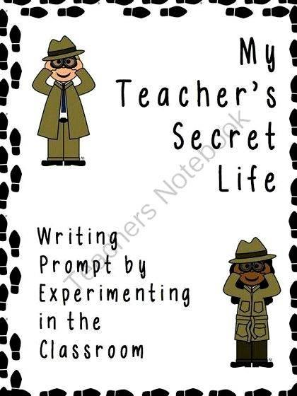 My teachers secret life writing exercises that will
