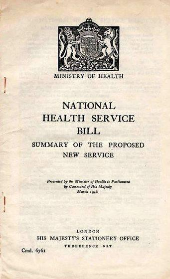 National health service act 1948 summary writing illustrated by