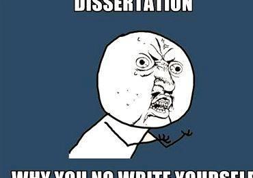 Dissertation paper on marketing