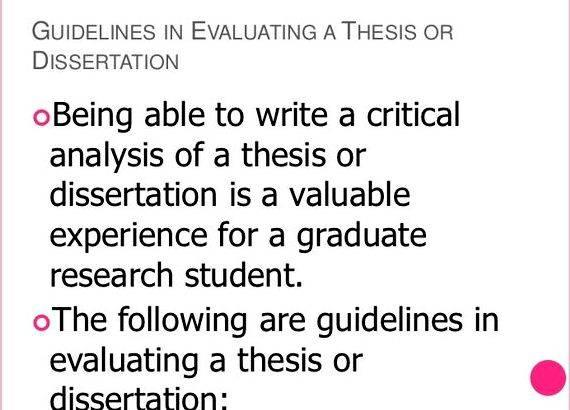 thesis chapter 5 conclusion How to write chapter 5(summary guidelines in evaluating a thesis ordissertation being able to write a critical analysis of a chapter 5.