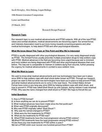 One page thesis proposal sample will the proposed