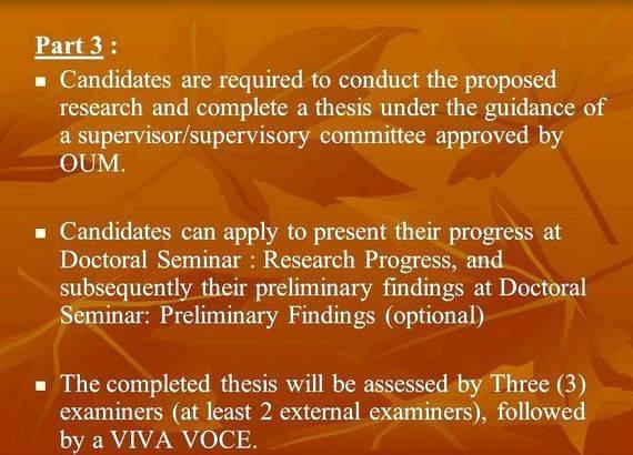 Dissertation Proposals For Doctoral Studies