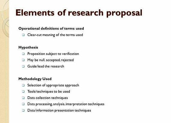 How To Write Hypothesis In Research Proposal