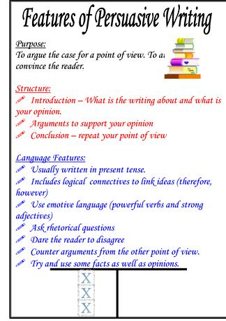feature articles persuasive essays Writing persuasive copy for web pages is similar to that of writing news articles that is, the most important information comes first – which is quite different from writing an essay or a short story journalists refer to this method as writing in an inverted pyramid, and it starts with the most relevant points which.