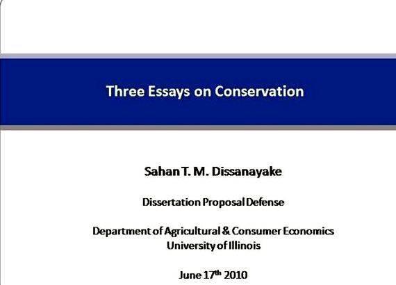 Doctoral dissertation defense business