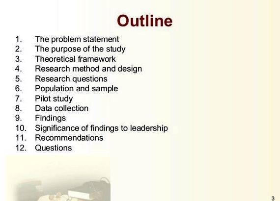 dissertation presentation of findings The results and findings section of your dissertation follows the data analysis and appears before the • a clear presentation of your most important findings.