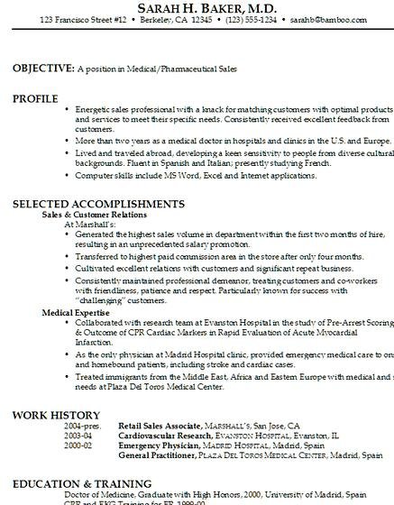 Professional medical resume writing services Will your