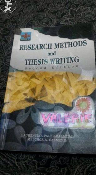 Topic: Methods Of Research And Thesis Writing Calmorin
